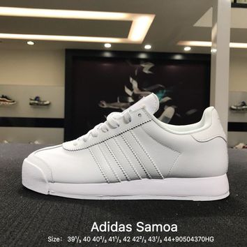 Adidas Originals Samoa + W Causel White Men Skateboarding Shoes - B27565