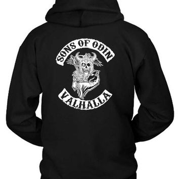 DCCKG72 Marvel Sons Of Odin Valhalla Hoodie Two Sided