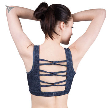 Bralette Beach Sexy Stylish Hot Comfortable Gym Bra Summer Yoga Sports With Steel Wire Jogging Vest [8923432070]
