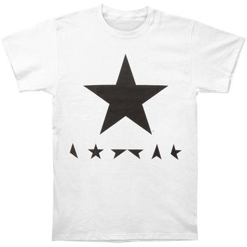 David Bowie Men's  David Bowie Blackstar White T-shirt T-shirt White