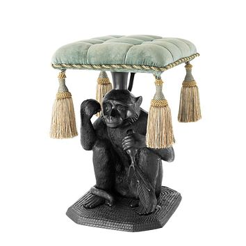 Monkey Bronze Stool | Eichholtz