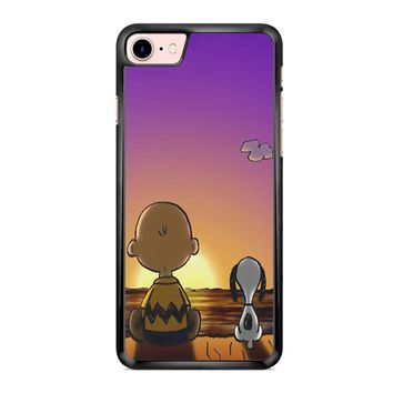 Snoopy And Charlie Brown iPhone 7 Case