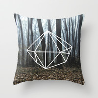 Geometry Throw Pillow by Geometry