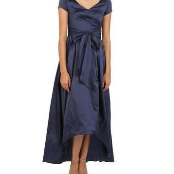 Adrianna Papell Formal Dress High Low
