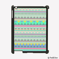 Ipad 2 Case Blue Aztec Design for for Ipad 2 by Fundakipadcases
