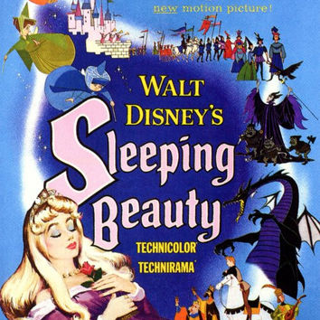 Sleeping Beauty 27x40 Movie Poster (1959)