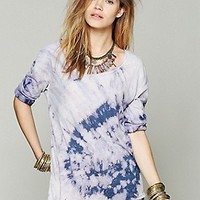 We The Free   Blocked Bleach Tee at Free People Clothing Boutique