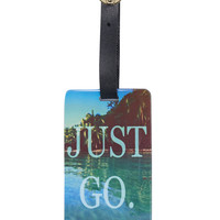Just Go Luggage Tag | Wet Seal