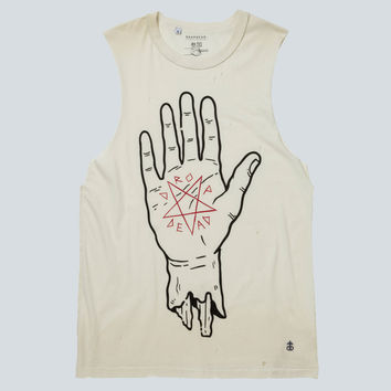 Blood Pact Tank Top (Cream)