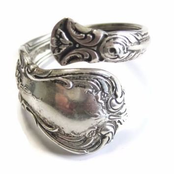 Vintage Sterling Spoon Ring Towle Old Master Size 9