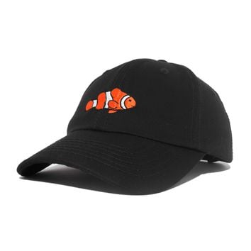 DALIX Clownfish Baseball Cap Tropical Dad Hat for Men Women's Hats