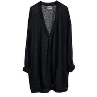 Roy Cardigan Black - Weekday