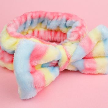 Cotton Candy Bow Headband