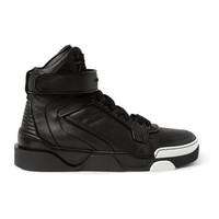 Givenchy - Tyson High Top Leather Sneakers | MR PORTER