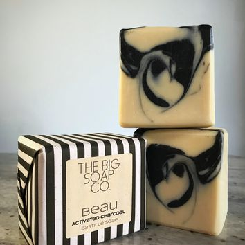 Beau Bastille Soap w/ Activated Charcoal