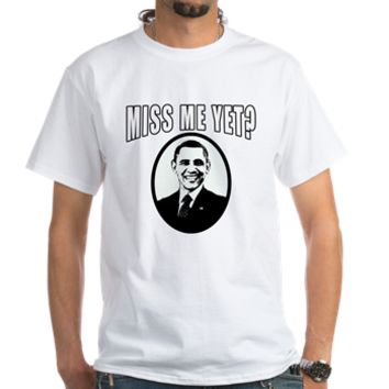 OBAMA Miss Me Yet? Shirt> Obama Miss Me Yet?> Scarebaby Design
