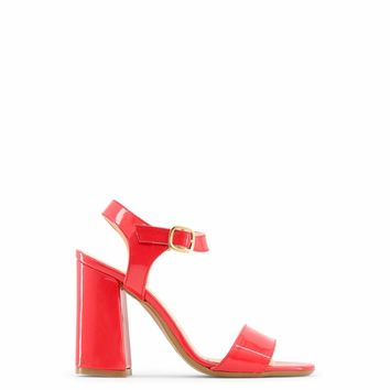 Made in Italia Women Red Angela Sandals