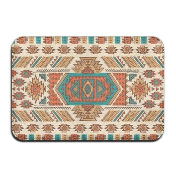 Autumn Fall welcome door mat doormat DIYABCD Awesome Mexican Blanket Stripes  Anti-slip House Garden Gate Carpet  Floor Pads AT_76_7