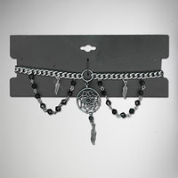 Black Dream Catcher Choker