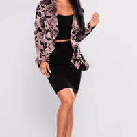 Meet and Greet II Blazer - Orchid