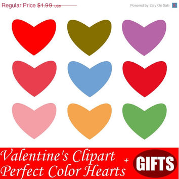 35 % OFF PLUS GIFTS Valentines Color Hearts Clip Art Scrapbooking Heart Clipart Love Clipart Rainbow Hearts Valentine Clip Art Hand Drawn Cl