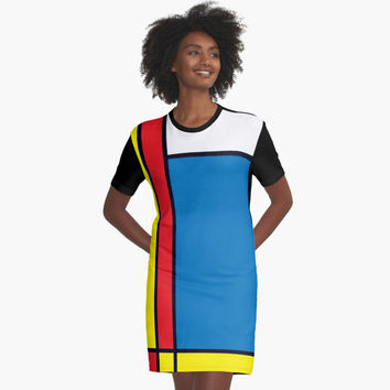 "'""geometric art 331""' Graphic T-Shirt Dress by BillOwenArt"