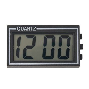 2016 Hot Style NEW Digital LCD Table Car Dashboard Desk Date Time Calendar Small Clock New Arrival
