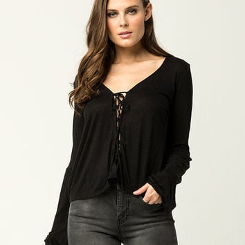 AMUSE SOCIETY Spencer Womens Top | Blouses