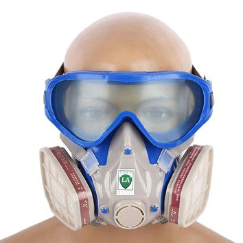 Self Inhaling Respirator Gas Mask Dust Anti Industrial Dust Pollen Haze Poison Professional Whole Face Dust-proof Anti-fog Mask
