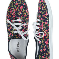 Ditsy Floral Tennis Shoe | Shop Shoes at Wet Seal