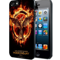 The Hunger Games mockingjay part one B Samsung Galaxy S3 S4 S5 S6 S6 Edge (Mini) Note 2 4 , LG G2 G3, HTC One X S M7 M8 M9 ,Sony Experia Z1 Z2 Case