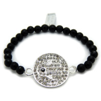Enchanting Hamsa Bracelet in Silver