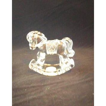 Princess House Rocking Horse Figurine
