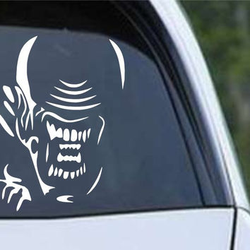 Aliens Xenomorph Head Die Cut Vinyl Decal Sticker