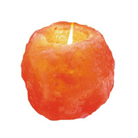 Himalayan Salt Candle Holder - Medium