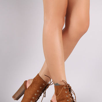 Liliana Lace Up Heel | UrbanOG