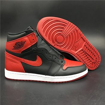 Air Jordan 1 Retro High OG Banned 555088-001