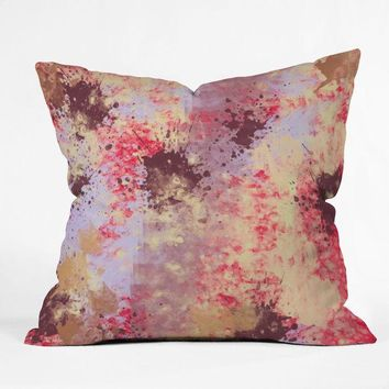 Sweet Grunge Throw Pillow
