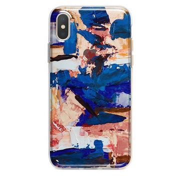 Abstract Paint iPhone XR case