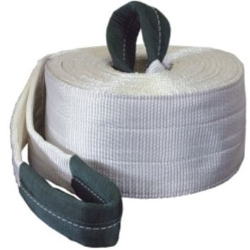 TOW STRAP WITH LOOPED ENDS 6IN. X 30FT. 60000LB.