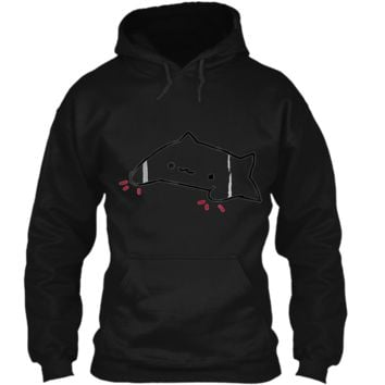 """Bongo Cat """"Official""""  Pullover Hoodie 8 oz"""