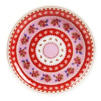 Ribbon Rose Petite Cupcake Plate Set of 4