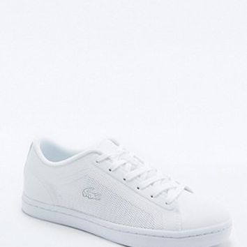 Lacoste Showcourt White Mesh Trainers - Urban Outfitters