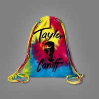 Face Tie-Dye Cinch : TCNF : Taylor Caniff
