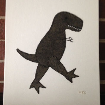 T-Rex #1 Fabric Wall Art