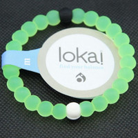 Lokai Supports Bracelet Make-A-Wish For Friendship (light Green)