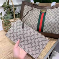 GUCCI 2019 new female personality personality wild shopping bag handbag shoulder bag two-piece