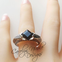 Harry Potter Resurrection Stone Horcrux Ring by Carolyn Nicole Designs