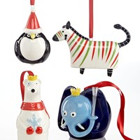 Department 56 Christmas Ornaments, Party Animalz Collection
