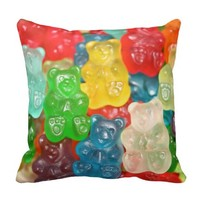 Big gummy bears pattern for big & small,candy,fun, pillows
